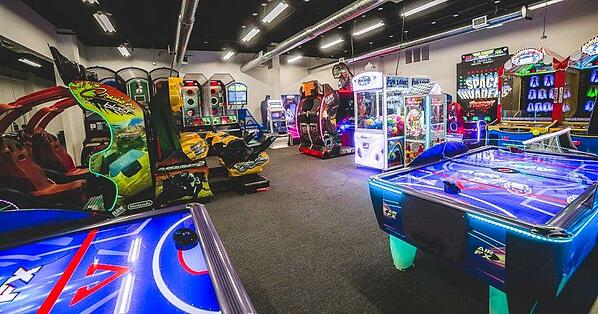 Arcade room in Sports Complex