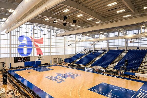 Home of the Blue Coats (76ers Fieldhouse)