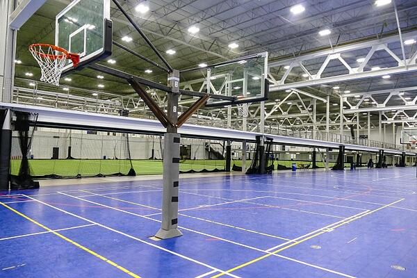 Indoor Basketball Courts in Sports Complex