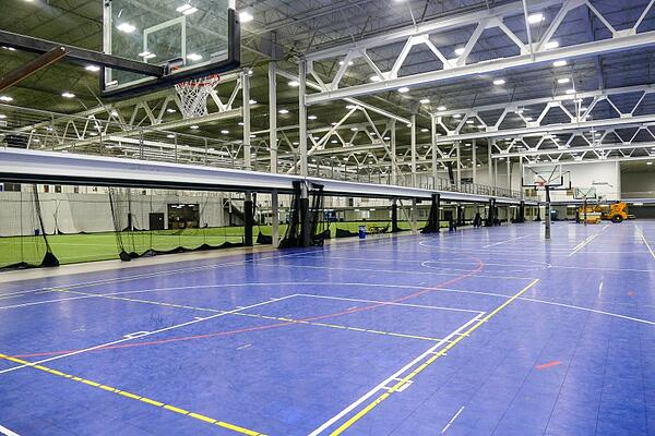 Indoor Basketball Courts in Sports Facility
