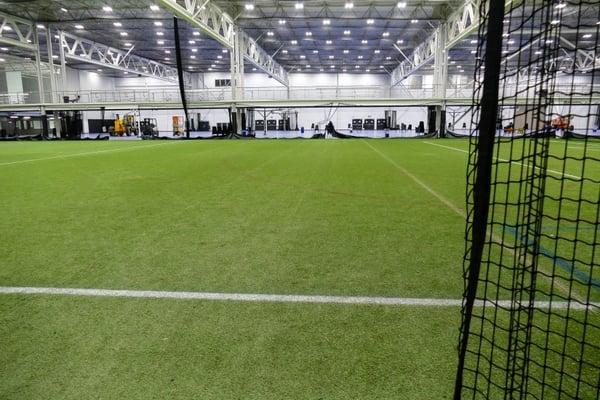 Indoor Turf Field in Pennsylvania