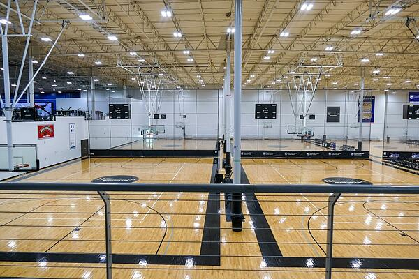 Indoor Basketball Courts for Sporting Events