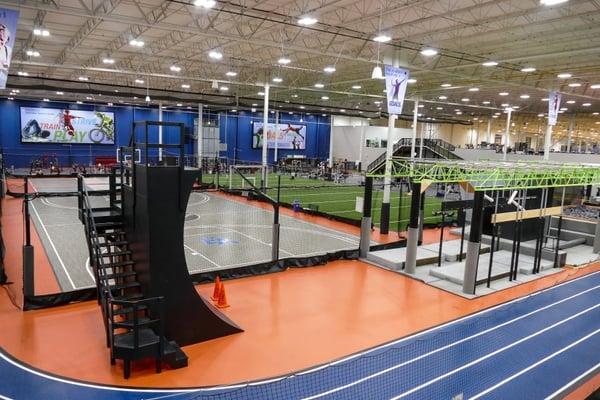 Ninja Warrior Gym in Pennsylvania