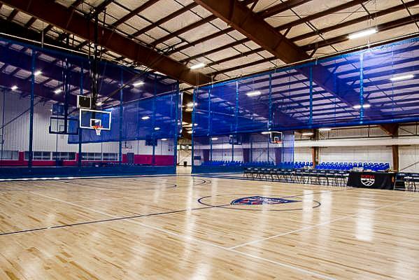 Basketball Courts at Sportika Sports New Jersey