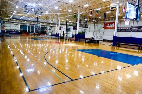 Sports Complex outside Philadelphia, Pennsylvania