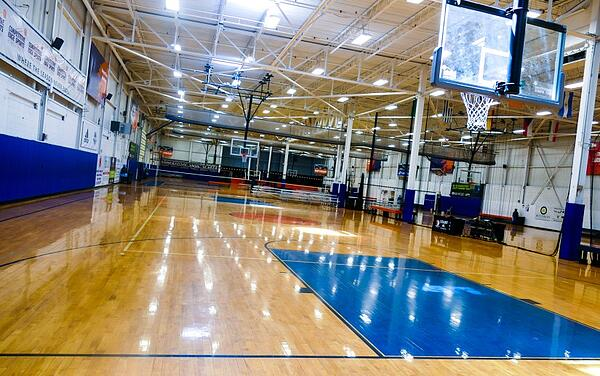 Basketball Courts at Competitive Edge Sports