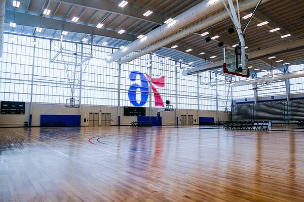 76ers Fieldhouse in Wilmington, DE