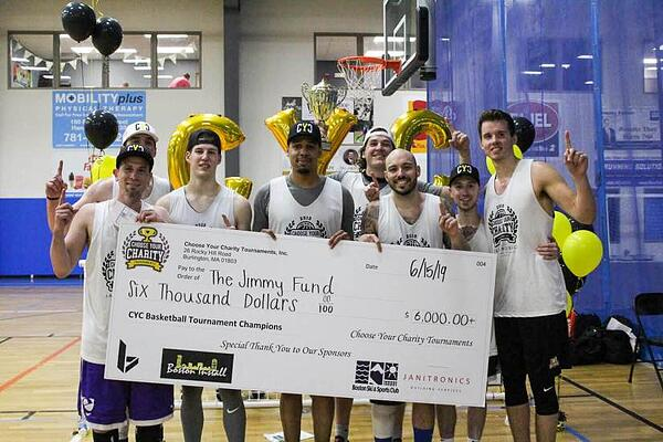 Charity Basketball Tournament in Massachusetts