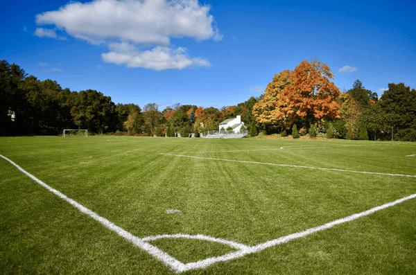 Turf field in Franklin, MA