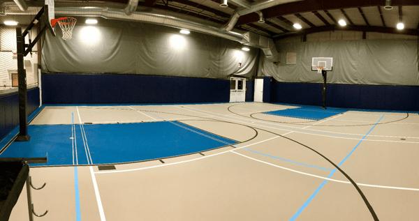 Basketball Court Franklin, MA