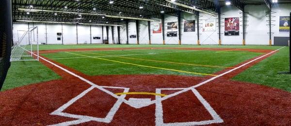 Indoor Baseball Field in Connecticut