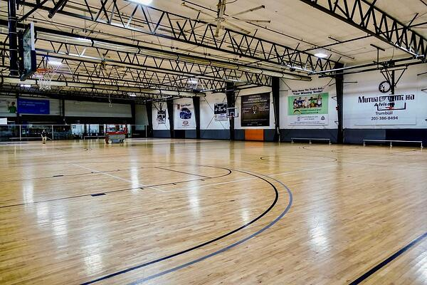 Hardwood Basketball Courts at Insports Center