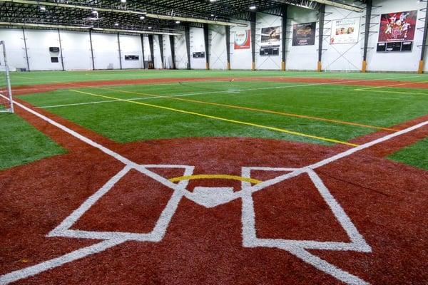 Indoor Baseball Field Northeast