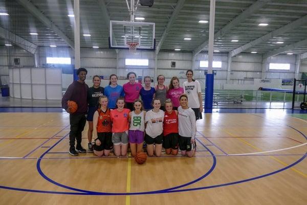 Irish Basketball Team in Boston Basketball