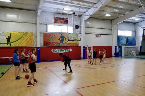 Girls Basketball Training Boston