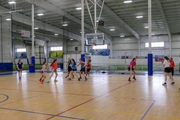 Basketball Practice at Forekicks