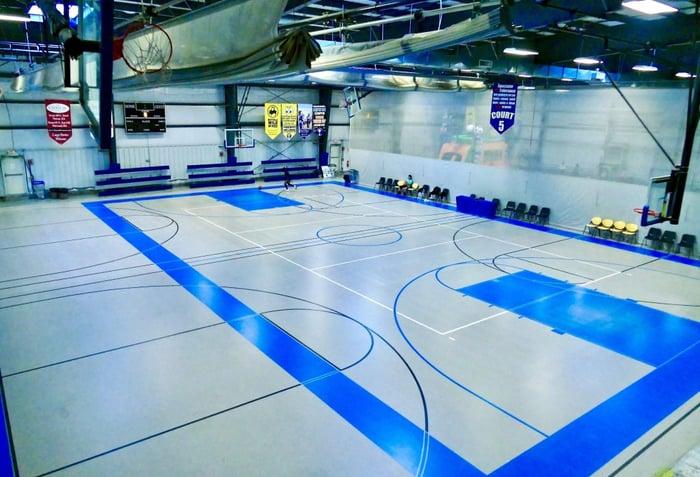 Mass Premier Basketball Courts