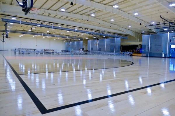 Dana Barros Basketball Courts