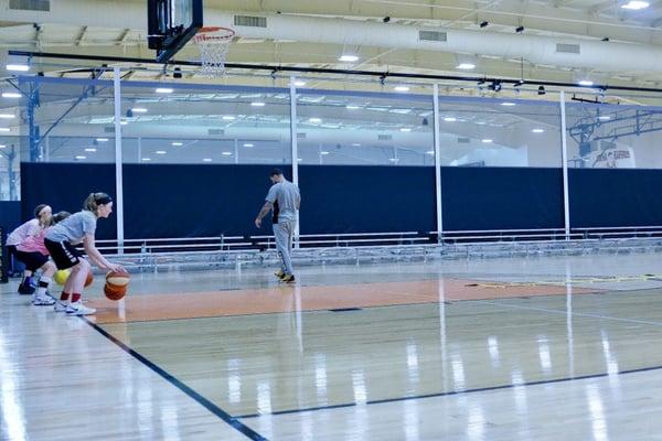 Basketball Training at Dana Barros Basketball Club