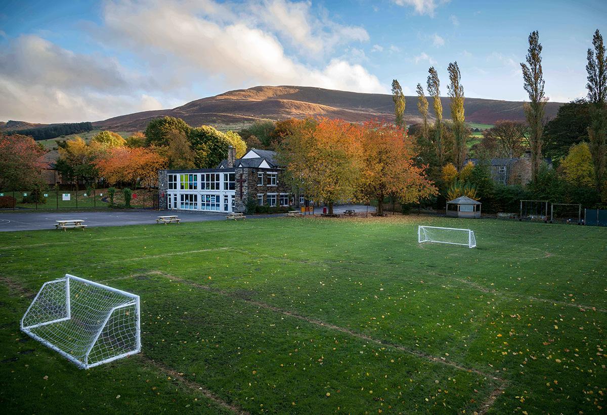 Outdoor Grass Soccer Field